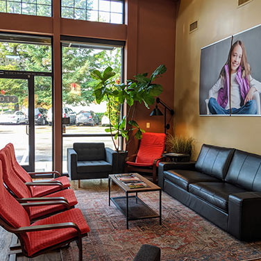 Lobby at Senestraro Family Orthodontics Wilsonville